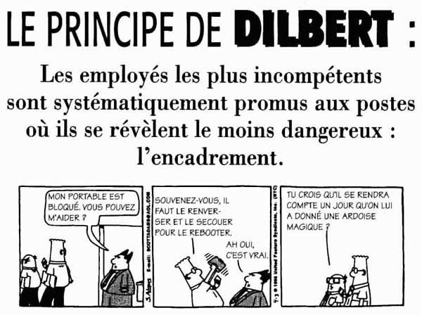 DILEMS, HICS et autre caricatures  - Page 3 Dilbert01