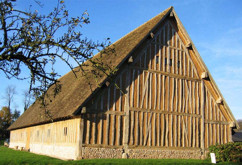 Gut bekannt Maison torchis, Construire en torchis, Mur en torchis, Mur en  TX69