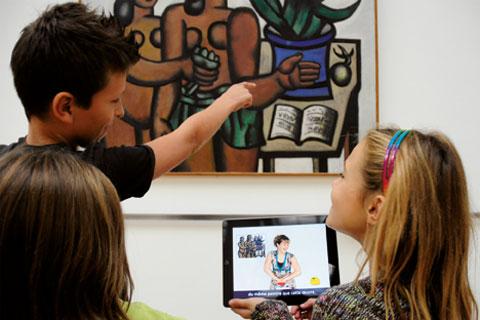 MUSÉO+ - Application interactive(ouverture du diaporama)