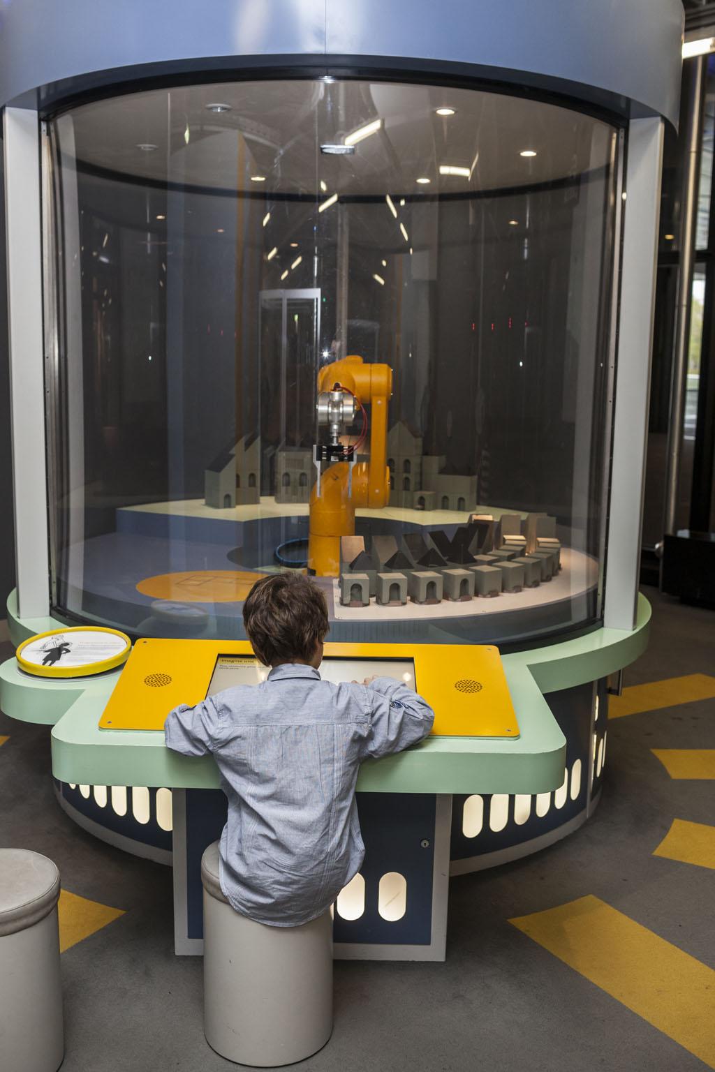 Pilote le robot(ouverture du diaporama)