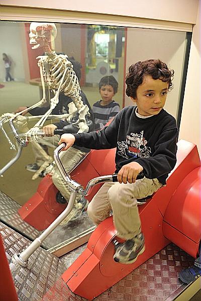 Ton squelette en action(ouverture du diaporama)