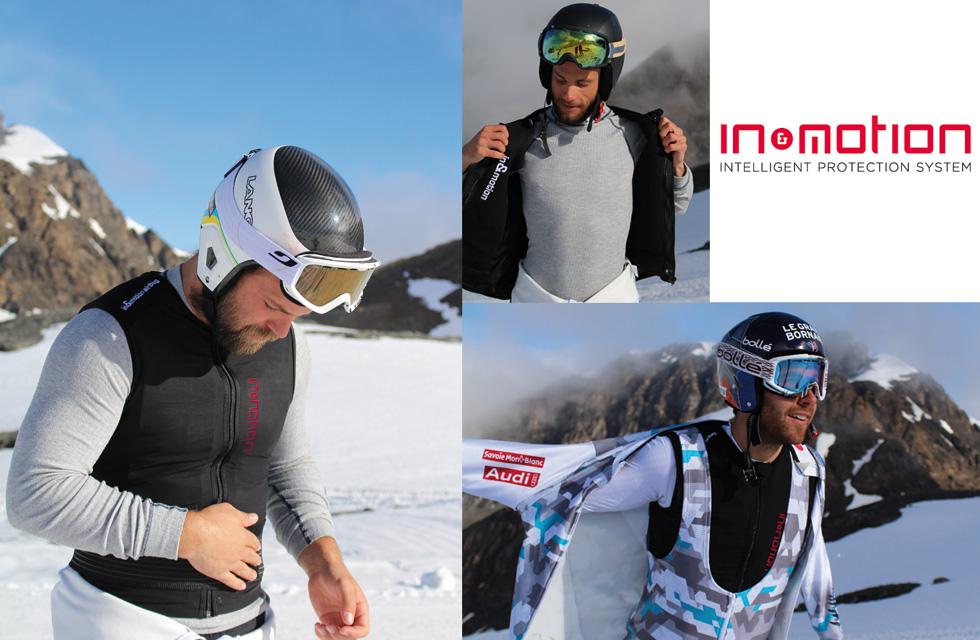 AIRBAG IN&MOTION - Gilet airbag connecté pour skieur(ouverture du diaporama)