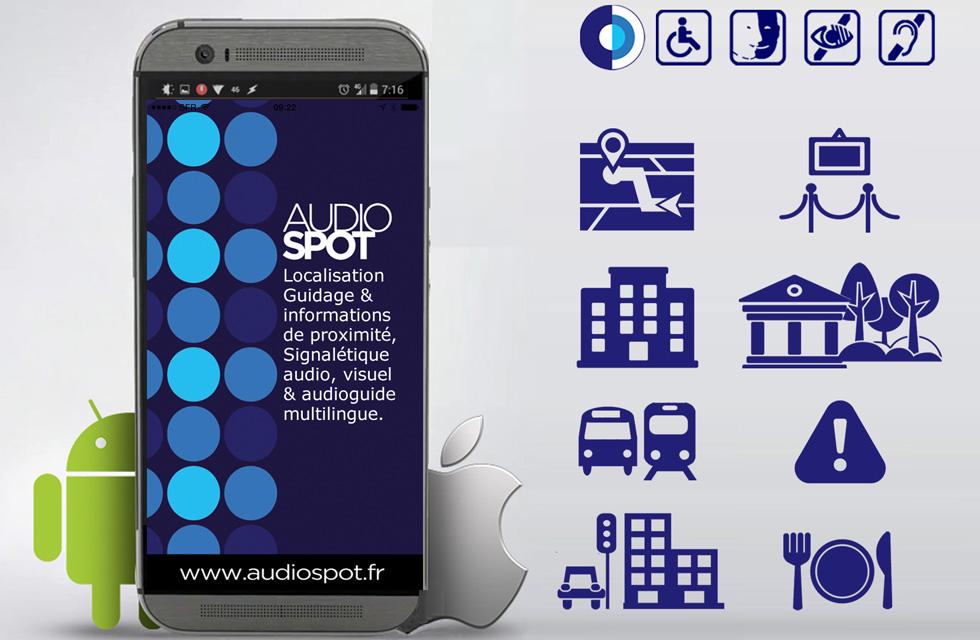 AUDIOSPOT - Informations et signalétique de proximité(ouverture du diaporama)