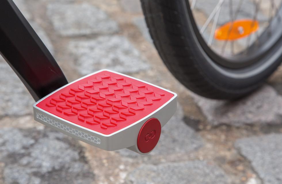 CONNECTED CYCLE PEDALS - La pédale de vélo connectée(ouverture du diaporama)