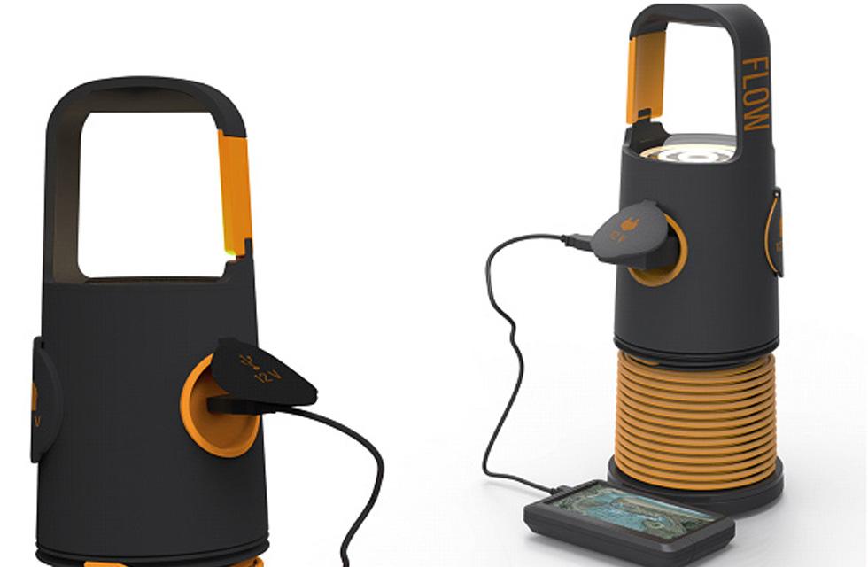 FLOW D'ÉNERGIE - Batterie portable piézoélectrique(ouverture du diaporama)