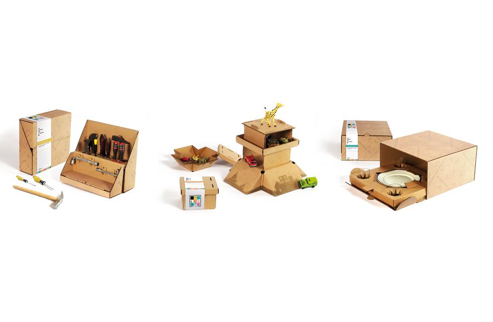 LE REMIX D'EMMAÜS - Packagings pour objets usagers(ouverture du diaporama)