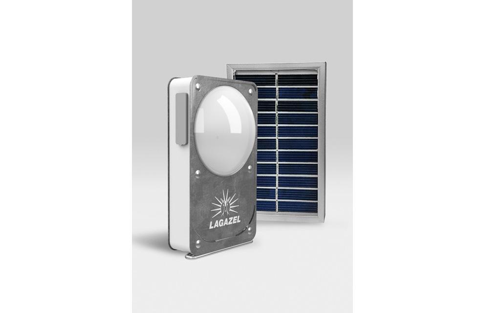 LAGAZEL SOLAR PRO - Lampe solaire(ouverture du diaporama)