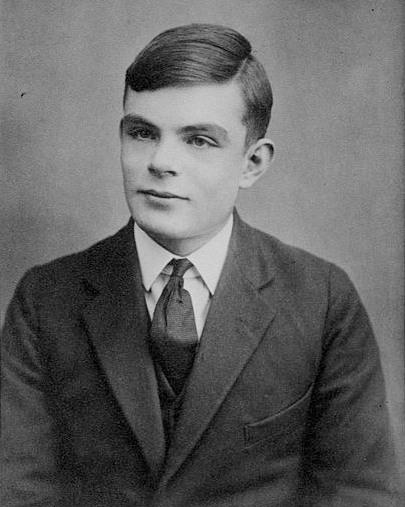 Alan Turing âgé de 16 ans | Wikimedia Commons