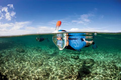 EASYBREATH - Masque facial pour le snorkeling(ouverture du diaporama)