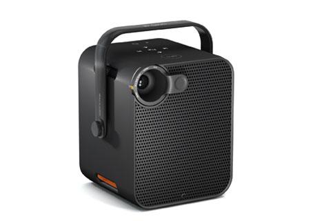 LE BLOC D'ORANGE - Projecteur audio vidéo portable connecté(ouverture du diaporama)