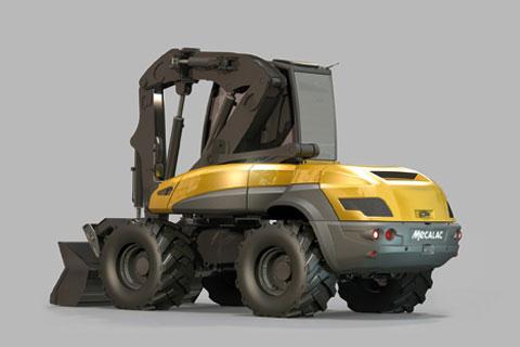 MECALAC 12MTX - Pelle sur pneus(ouverture du diaporama)