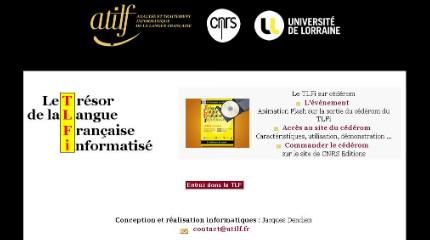 Dictionnaires encyclop dies s lection de sites s - Dictionnaire office de la langue francaise ...