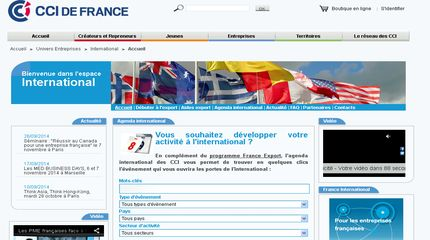 Innovation recherche industrie s lection de sites s for Chambre de commerce international de paris