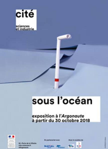 Sous l'océan, exposition à l'Argonaute à partir du 30 octobre 2018