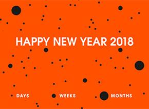 Universcience vous présente ses meilleurs vœux pour 2018