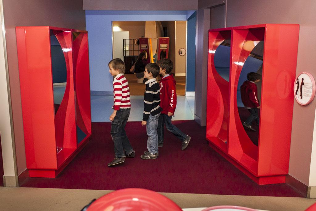 Miroirs déformants(ouverture du diaporama)